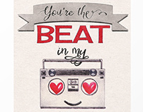 Illustration - 'You're the Beat in My Boombox'