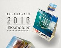 Calendário de Mesa 2016 - Smolder