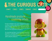 WEB DESIGN: THE CURIOUS CATS