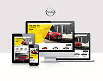 Opel Quantum: Website Concept, Design and Specification
