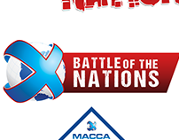 Logo: Macca X Battle of the Nations