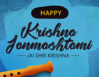 Janmashtami Wish Artwork