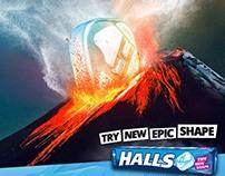Halls New Epic Shape Campaign