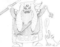 Fantasy Character Sketching