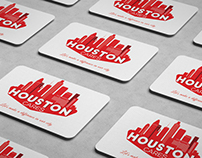 Houston Cares Branding