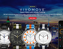 vívomove | Garmin Analog Watch with Activity Tracking