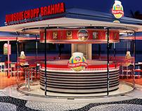 Copacabana Chopp Brahma Kiosks