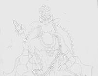 Nandhi art