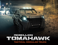 Rebellion Motors Tomahawk Armored Vehicle Brochure