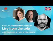 Adobe Live from the sofa UK with Glyn Dewis