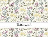 Butterscotch Floral Collection