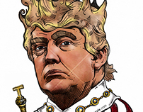 Donald Trump - Editorial Illustration