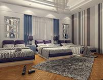 Girls Modern Bedroom