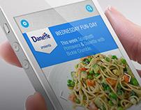 Danone Recipe App