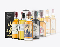 Massive Whisky Mockup Bundle