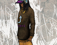 Urban / Hip Hop Character Designs