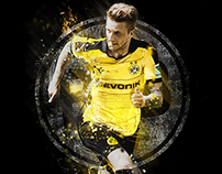Borussia Dortmund Poster and Apparel Design
