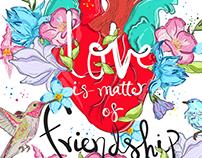 LOVE MATTERS / Illustration