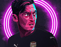 Mesut Özil for Arsenal FC