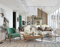 Living Room for young family