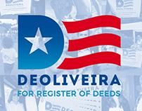 Paulo DeOliveira for Register of Deeds