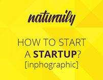 How to start a startup? - inphographic