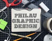 Promo Postcard for Graphic Design Event at PhilaU