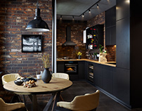 Kitchen. Loft.