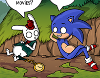 Comics - Sonic and the White Rabbit