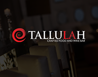 Tallulah Restaurant  |  Web Design