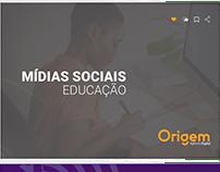 Mídia social educação