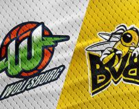 Bundesliga 1 Logos X NBA Style