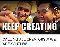 KEEP CREATING- FOLLOW YOUR DREAMS