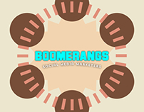Boomerangs logo design