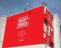 Wassup Producer /Brand Identity
