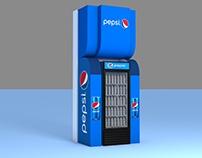 Pepsi Barill & Stand