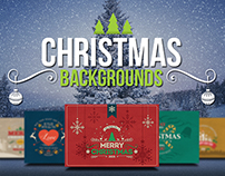 5 Christmas Card Backgrounds