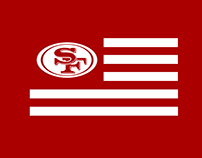 49ERS FAITHFUL FLAG