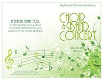 HCA Spring Concert Program