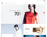 Yez - eCommerce Theme