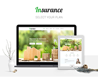 Insurance Agency Website Design Concept