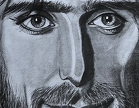 DRAWING - MALE PORTRAITS PENCIL