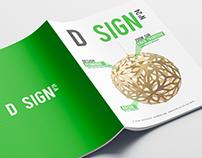 D SIGN Magazine - Mise en page