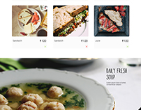 Goodness Goodness Website Hompage Design