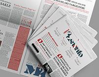 Sanato Newspaper Design