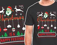 Christmas T shirt Design