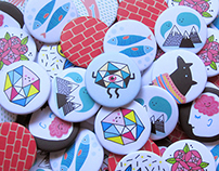 ·Pinbadges Collection· 2nd Round