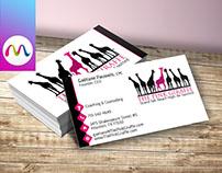 Logo and Business Card Design for Gaetane Pauwels