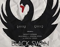 """""""Black swan"""" / fan art poster"""