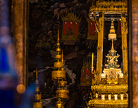 Twilight at the Temple of the Emerald Buddha